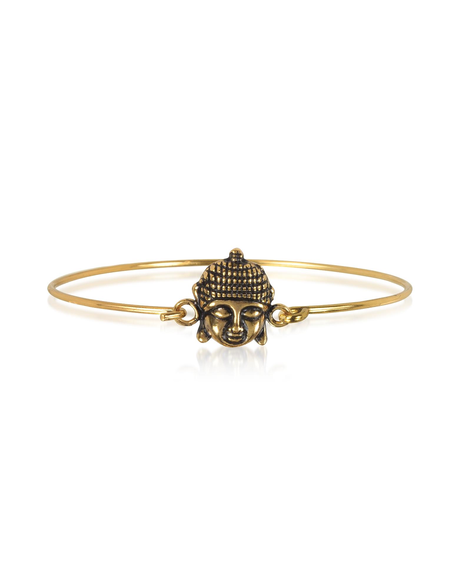 Forzieri coupon: Alcozer & J  Bracelets Brass Buddha Bangle