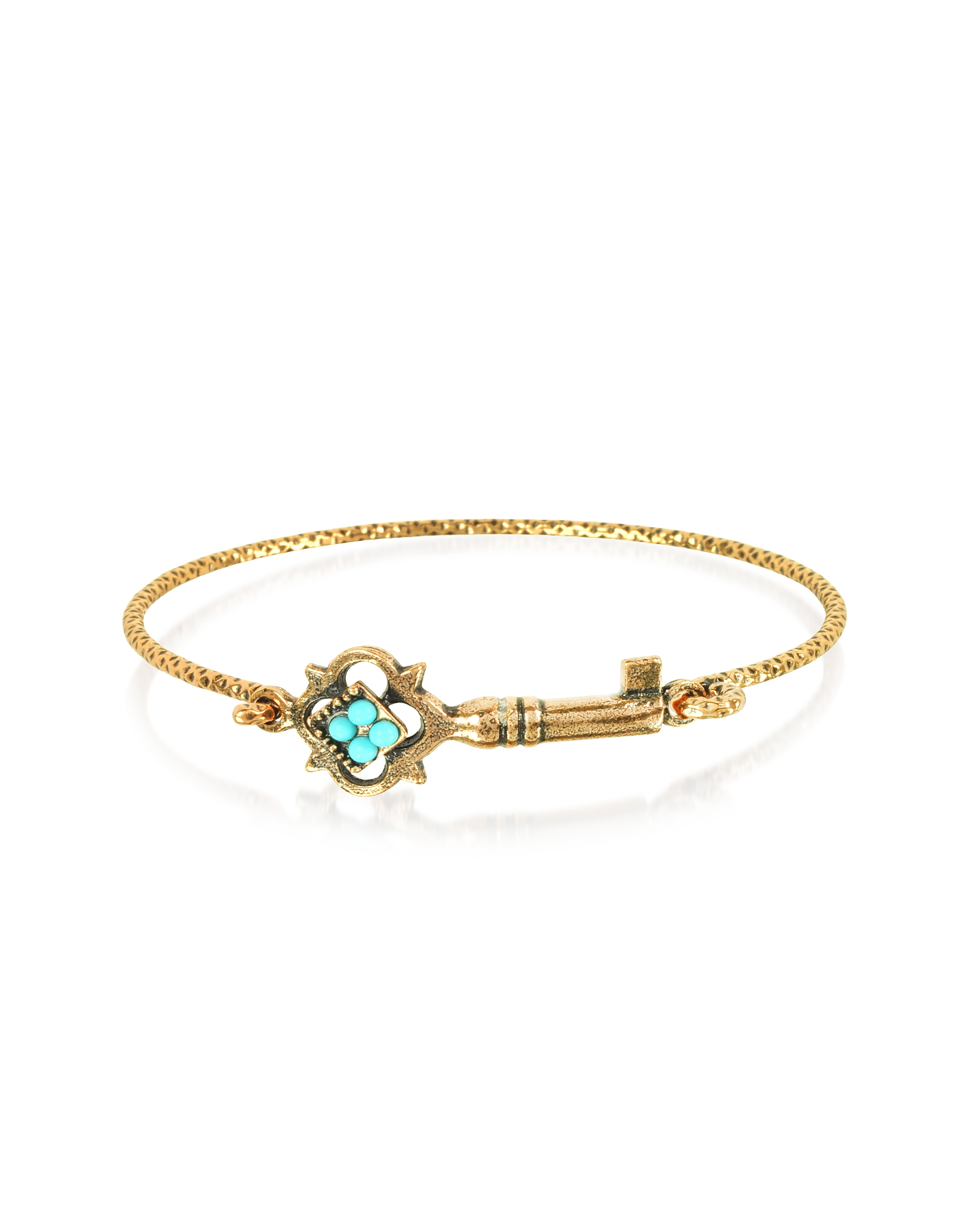 Forzieri coupon: Alcozer & J  Bracelets Turquoise Key Bracelet