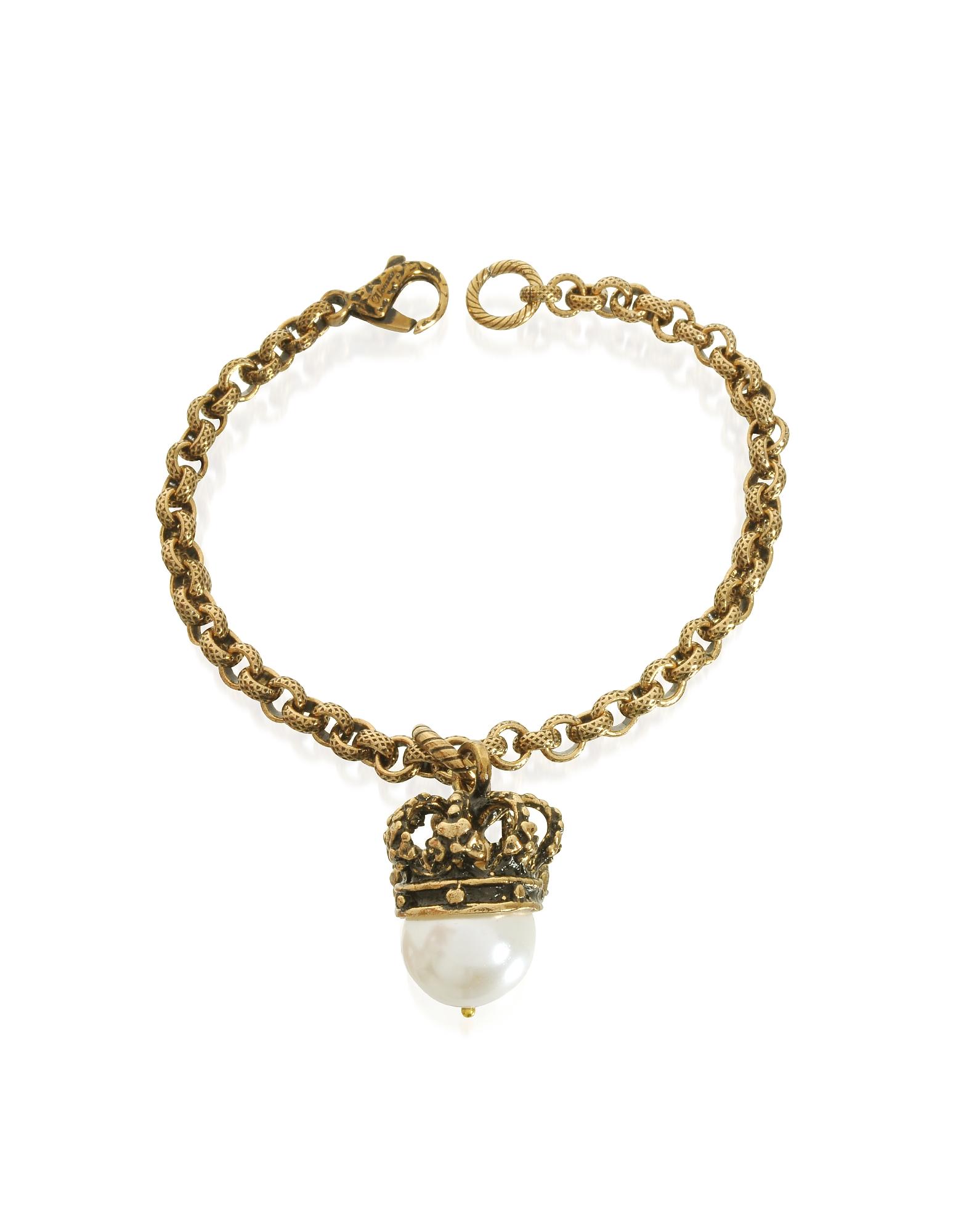 Forzieri coupon: Alcozer & J  Bracelets Crown and Pearl Bracelet
