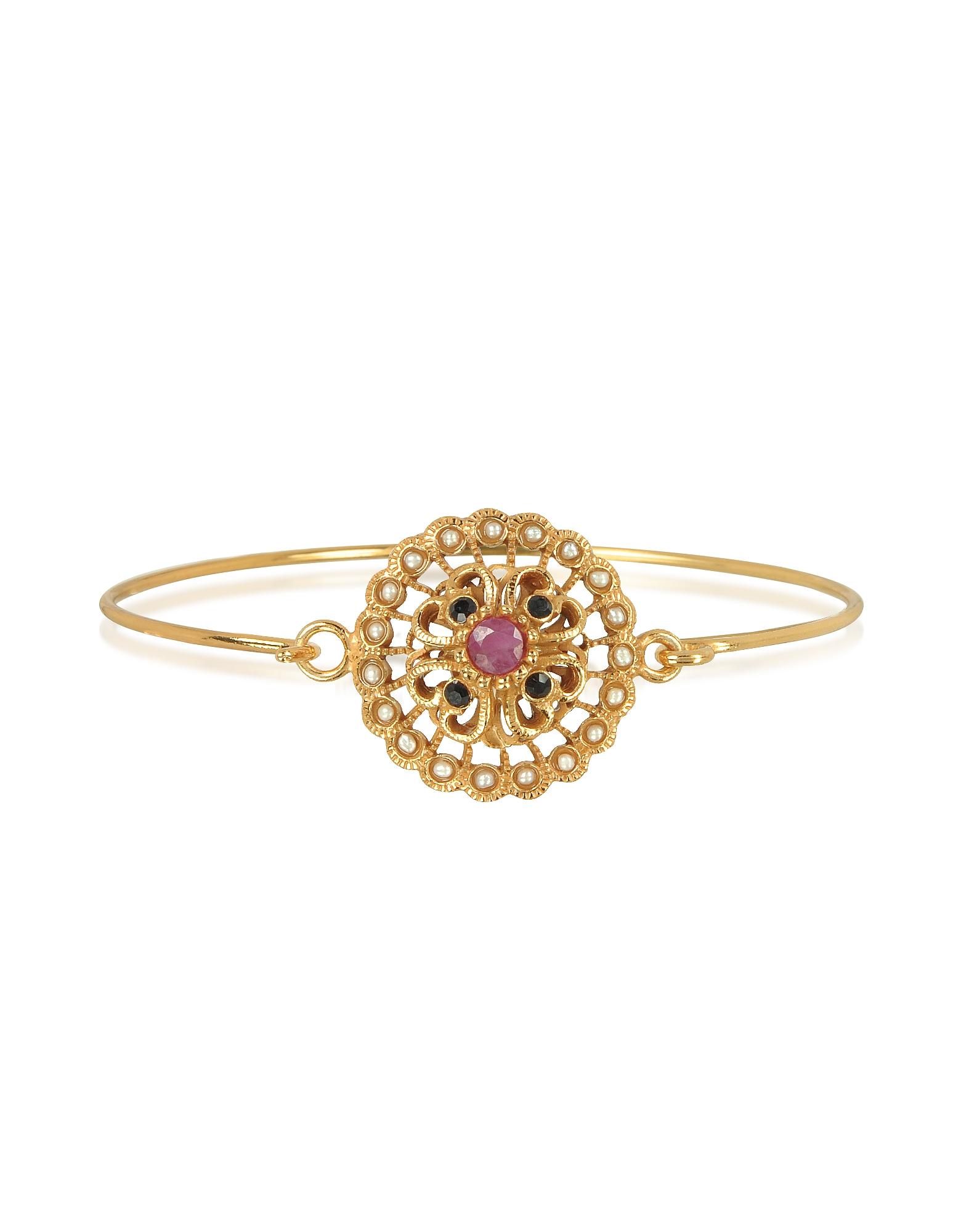 Forzieri coupon: Alcozer & J  Bracelets Mandala Bracelet w/Semi Precious Stones