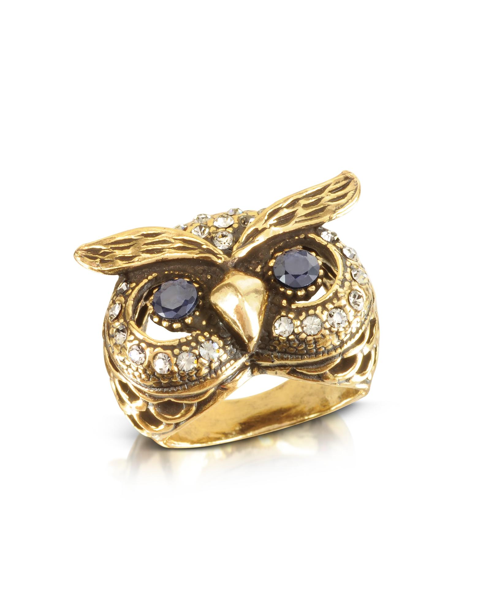 Forzieri coupon: Alcozer & J  Rings Owl Brass Ring