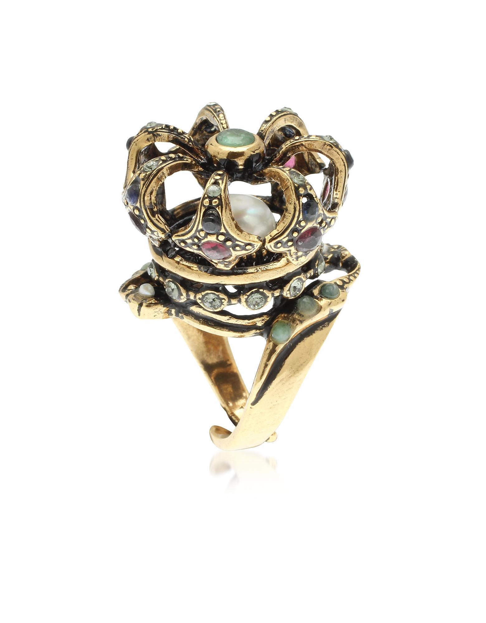 Forzieri coupon: Alcozer & J  Rings Corona Reale Ring