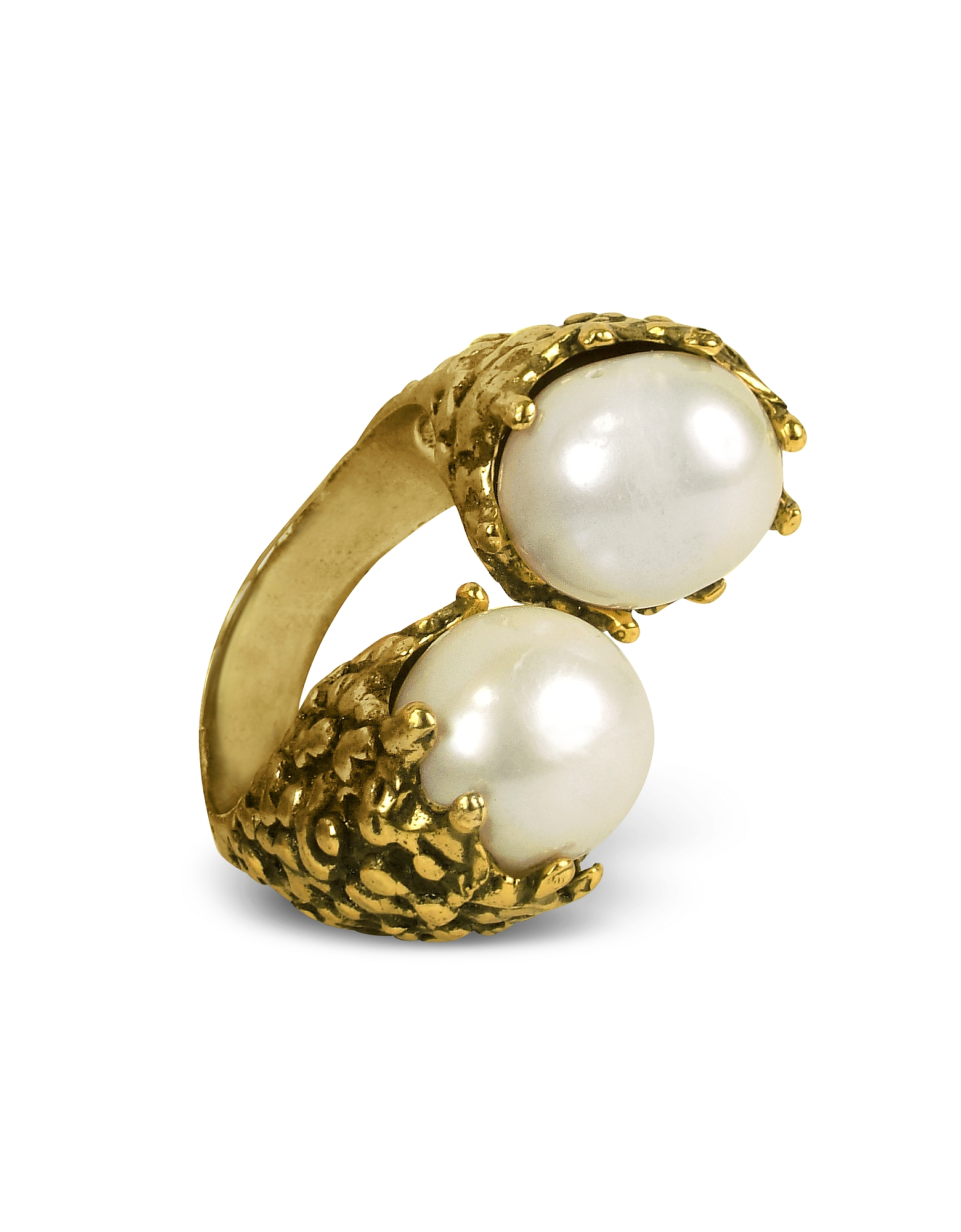 Forzieri coupon: Alcozer & J  Rings Glass Pearl Ring
