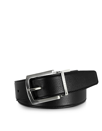 Orlando Black/Brown Reversible Leather Belt