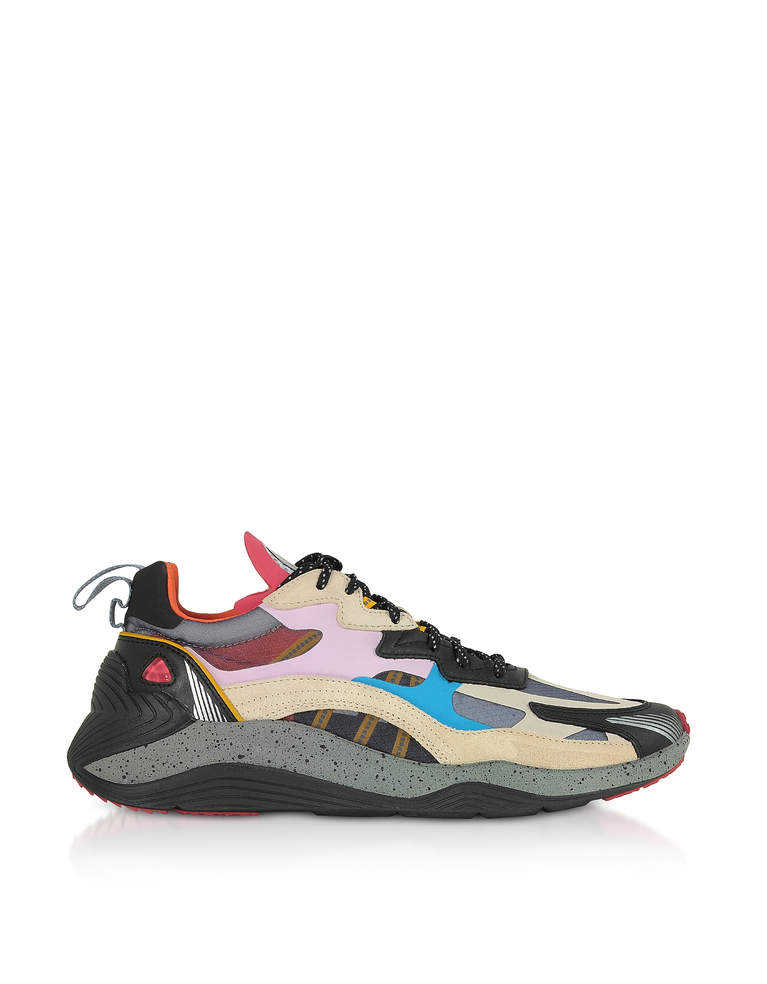 McQ Alexander McQueen Designer Shoes, Daku 2.0 Bubblegum Mix Sneakers
