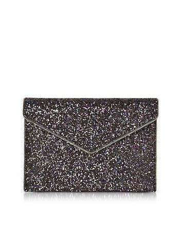 Glitter Leo Envelope Clutch rm130118-001-00