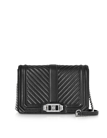 Small Quilted Leather Love Crossbody Bag rm130318-043-00