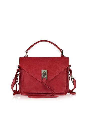 Leather Mini Darren Messenger Bag rm130318-044-00