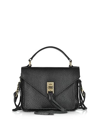 Glossy Leather Mini Darren Messenger Bag rm130318-045-00