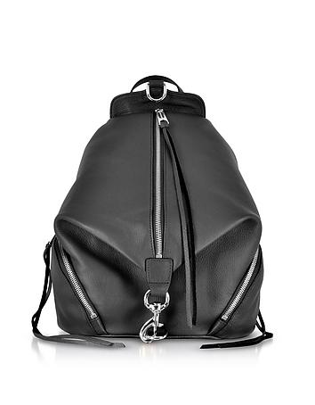 Balck Leather Julian Backpack rm130318-049-00