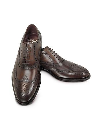 1920s Style Mens Shoes Cayenne - Brogued Wingtip Oxford $486.00 AT vintagedancer.com