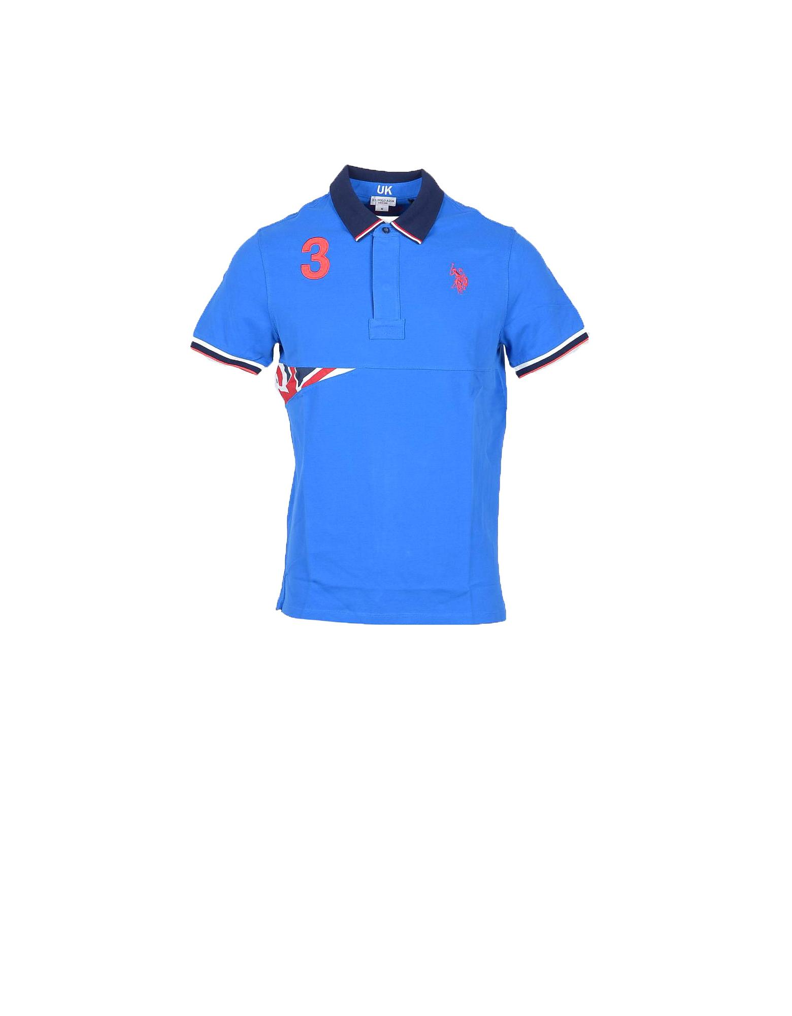 U.S. Polo Assn. U.S. Polo Assn. Polo Shirts Bluette Cotton Men's Polo Shirt w/UK Flag from FORZIERI | Accuweather